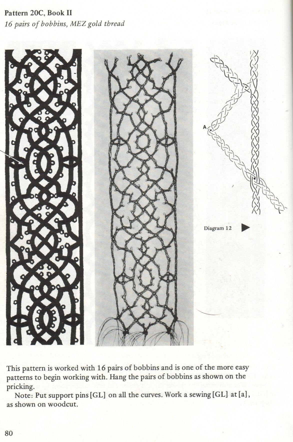 A Step Through Time Instructions And Lace From Le Pompe 1559 Pattern For Venetian Bobbin Lace Bobbin Lace Bobbin Lace Tutorial Bobbin Lace Patterns