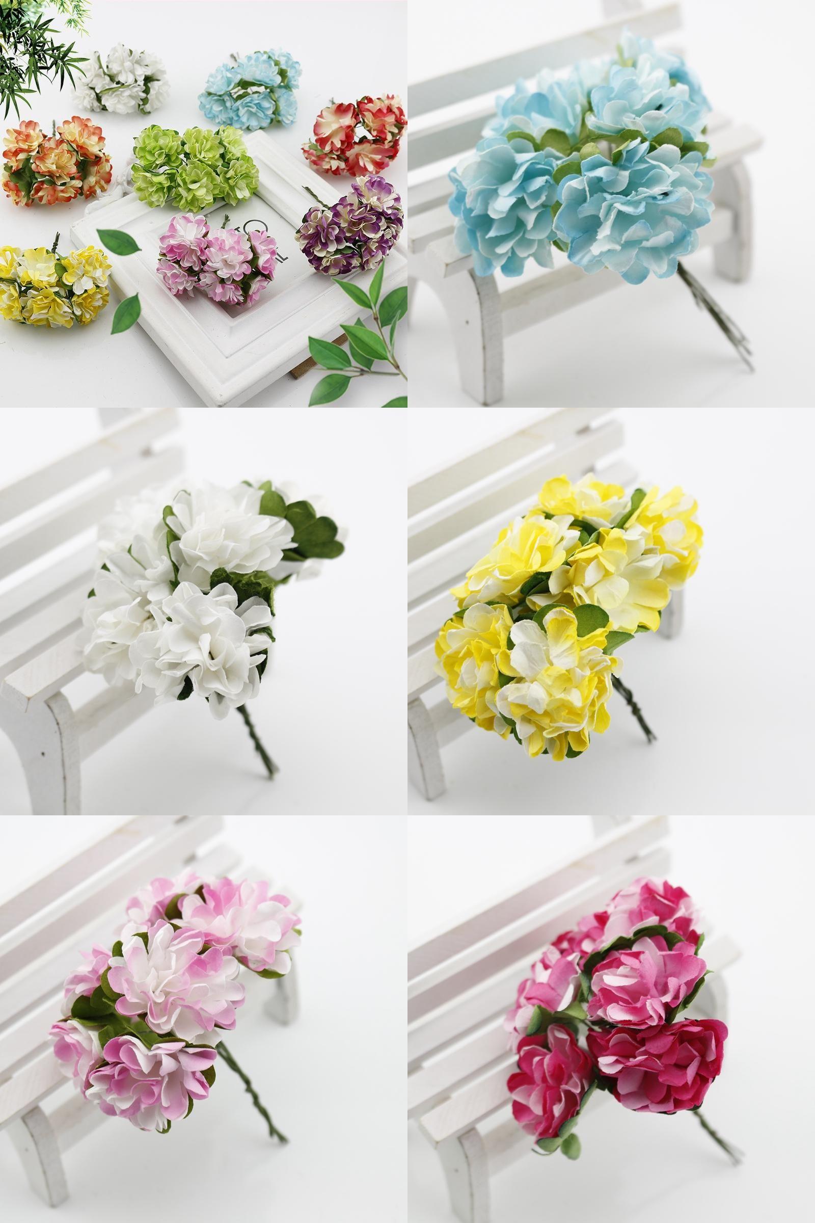 Visit To Buy 12 Pcs Gift Box Scrapbooking Mini Carnation Paper