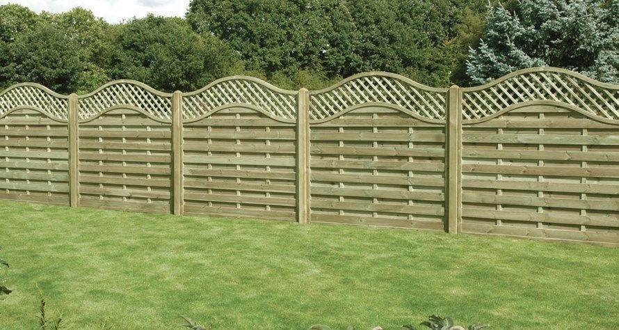 Elite Garden Fence Panels