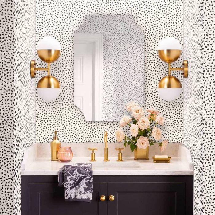 Wallpops Shiplap Reclaimed Wood Peel And Stick Wallpaper Farmhouse Wallpaper Bathroom Wallpaper Bathrooms Remodel