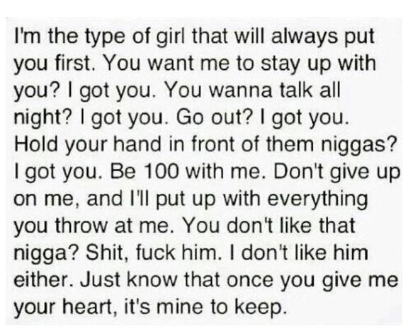 I M The Type Of Girl Types Of Girls Girlfriend Quotes Funny Girl Quotes