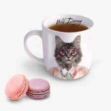 Courtney Cat Ceramic Mug