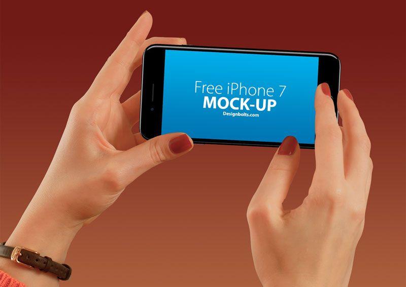 Download Free Apple Iphone 7 Hand Mockup Psd With Custom Background Smartphone Free Photoshop Mockups Mockup Psd Mockup