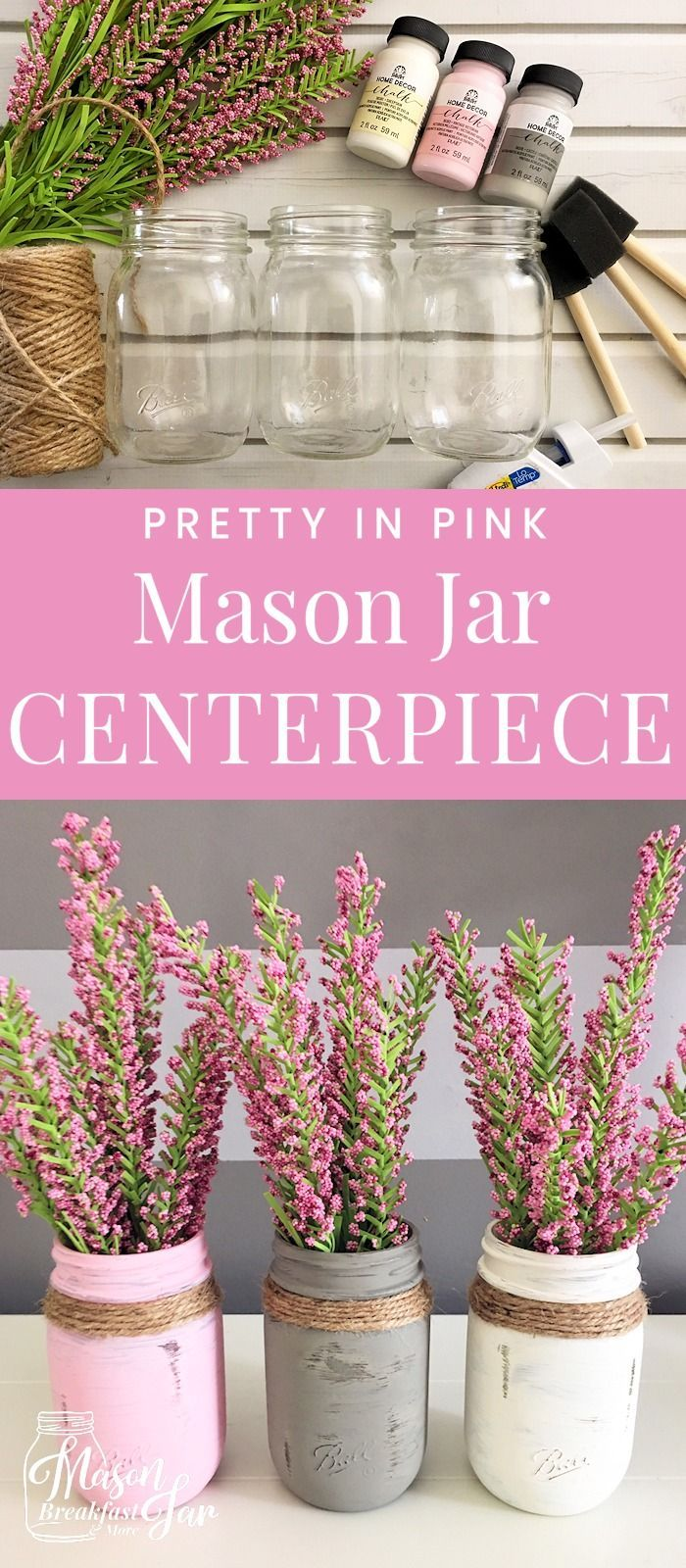 Whether you are looking for Mason jar centerpieces for weddings or ...