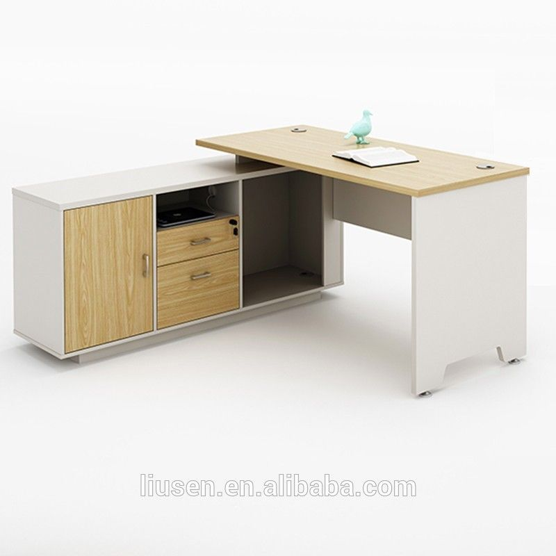 China Computer Office Furniture Suppliers Simple Wooden Desk