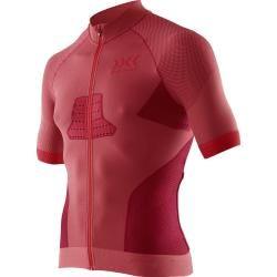 Photo of X-Bionic Bike Race Evo Shirt Short Sleeve Full Zip 2018 rot Herren X-Bionic