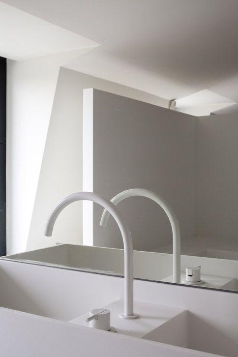 trennwand nicht bis zur decke bathroom pinterest badezimmer bad und waschtisch. Black Bedroom Furniture Sets. Home Design Ideas