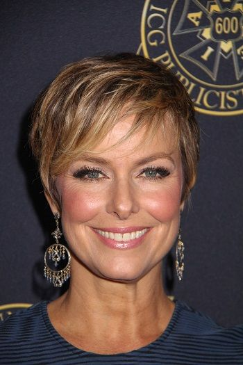 Melora Hardin Celebrity Inspired Short Haircuts Women Over 40 L Www