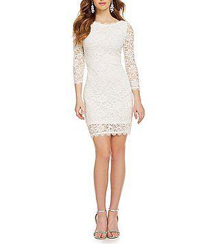 ebdec7acb46 Jump Lace Sheath Dress
