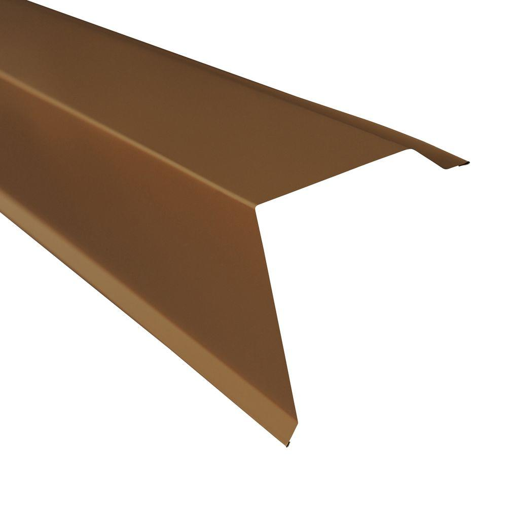 Metal Sales Gable Trim In Burnished Slate 4206049 Gable Trim Metal Roof Flat Roof House