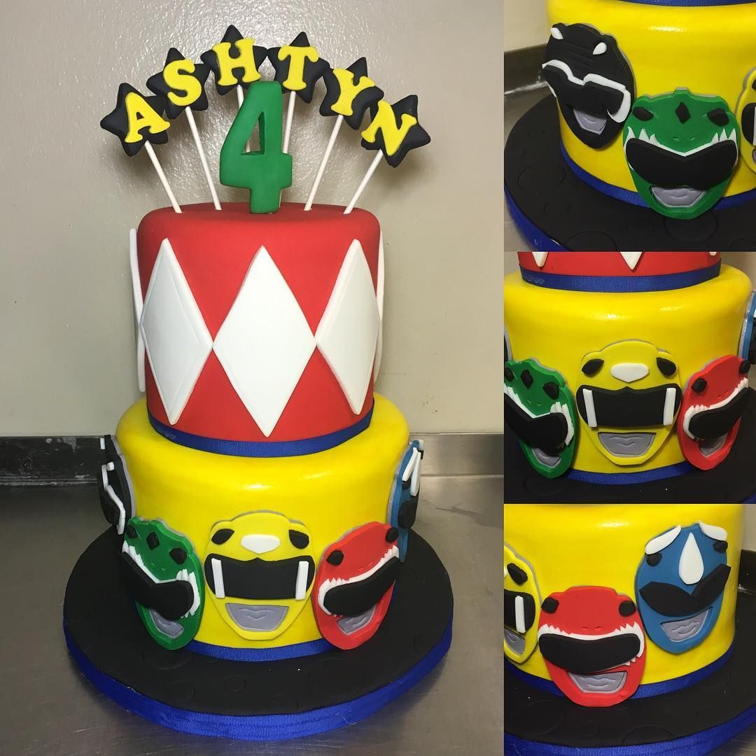 Image Result For Power Rangers Cake Power Rangers Birthday Cake