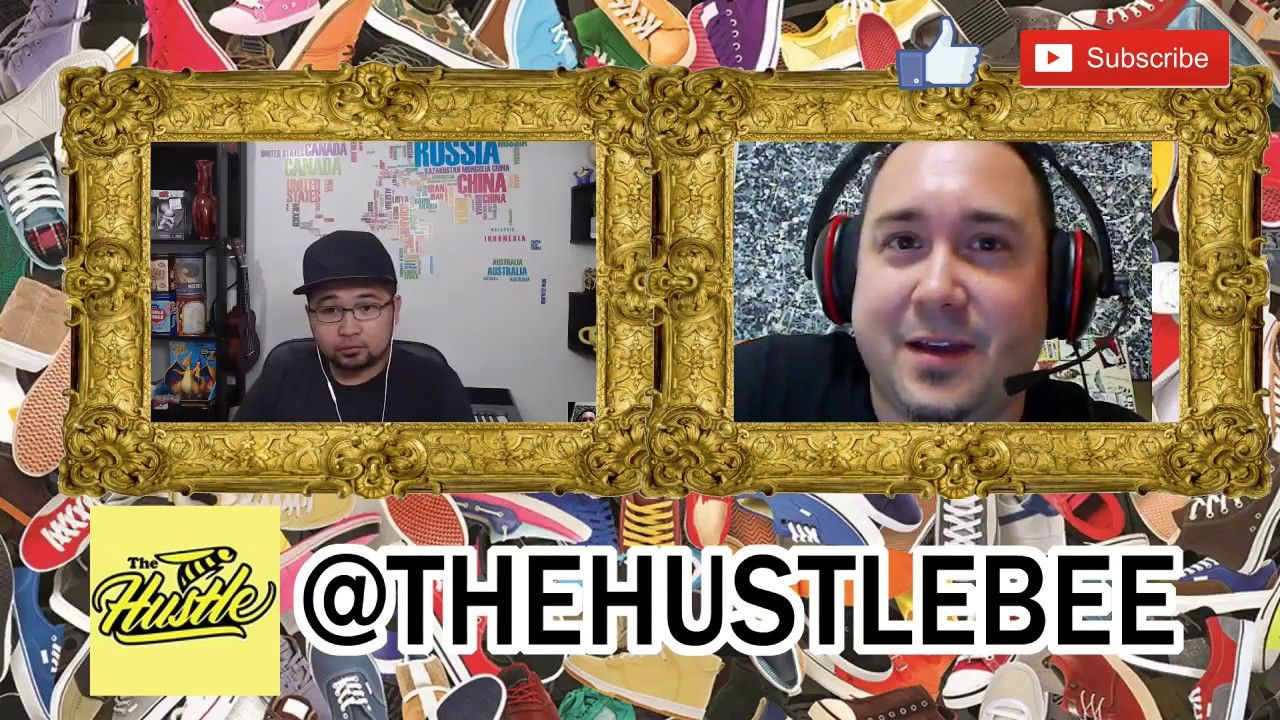 Hustler and interview thanks for