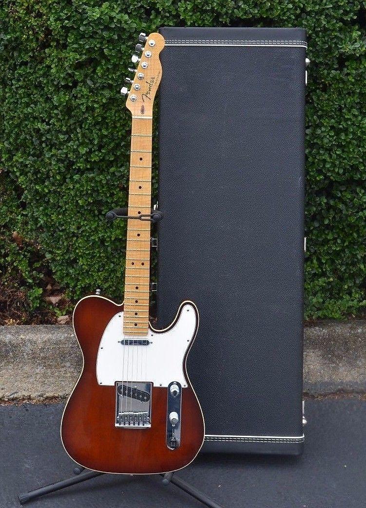 Fender Custom Shop Telecaster Faded Violin Burst with AAA