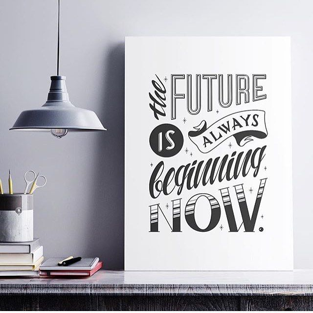Future poster by @smanzow #designspiration #lettering #design #inspiration - View this Instagram https://www.instagram.com/Designspiration/