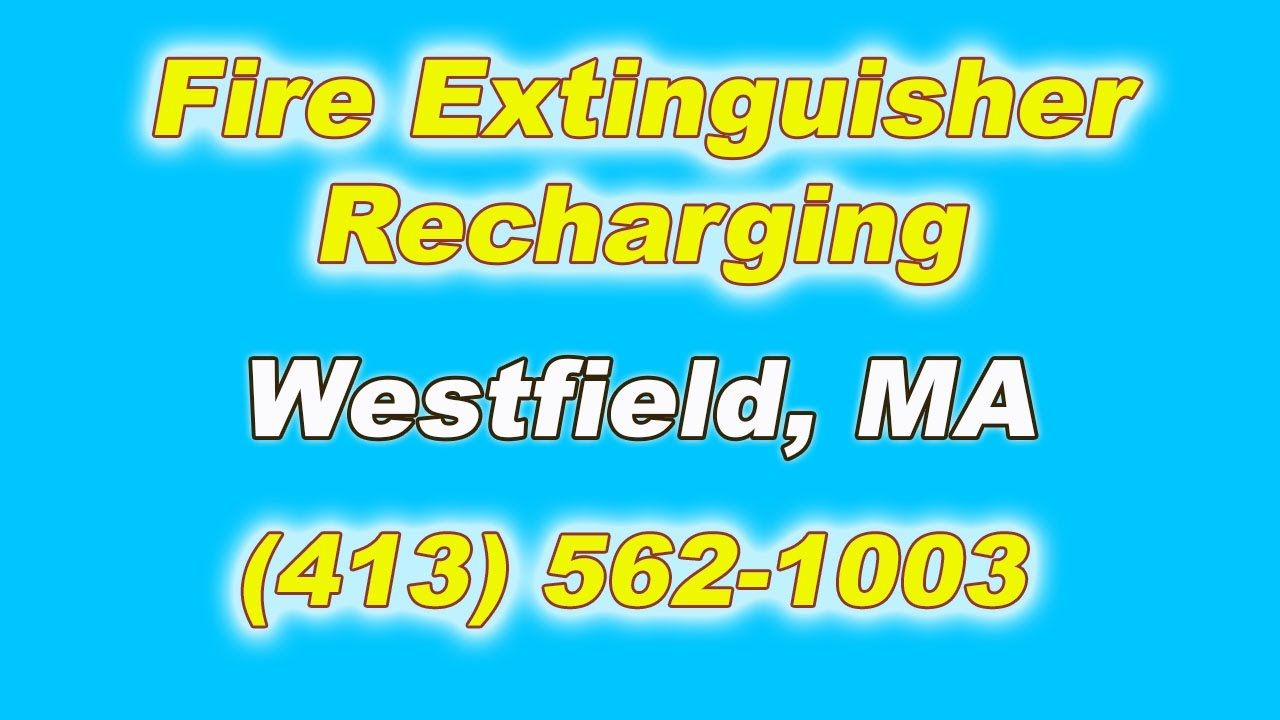 Fire Extinguisher Recharging for Local Westfield MA businesses.  (413) 562-1003 We're Fire Control Systems.  Call for FAST Fire Extinguisher Recharging.