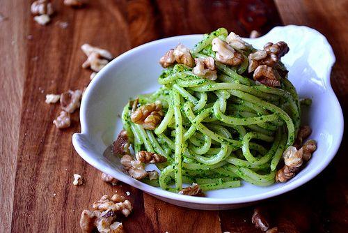 Spinach, Feta and Walnut Pesto (3) by FrugalFeeding, via Flickr