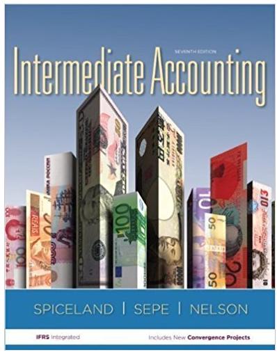 Intermediate Accounting 7th Edition J David Spiceland Solutions Accounting Books Spiceland Accounting