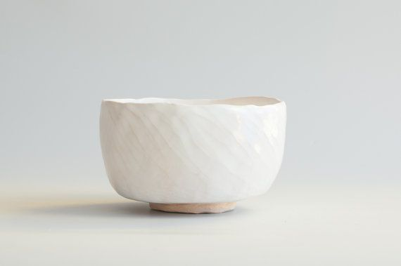 white ceramic bowl in japanese style mug wabi sabi white bowl cup ceramic cup without handle minimalistic milky pure cup chawan 63