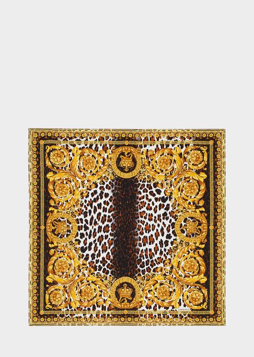 927cd4cd25 Wild Barocco Print Silk Foulard for Women | US Online Store ...