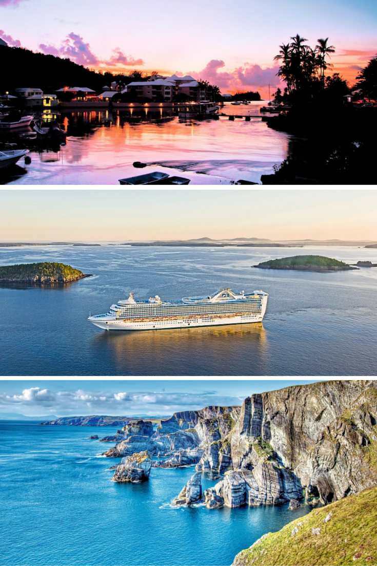 Princess Cruises Night British Isles Passage Transatlantic - April cruises