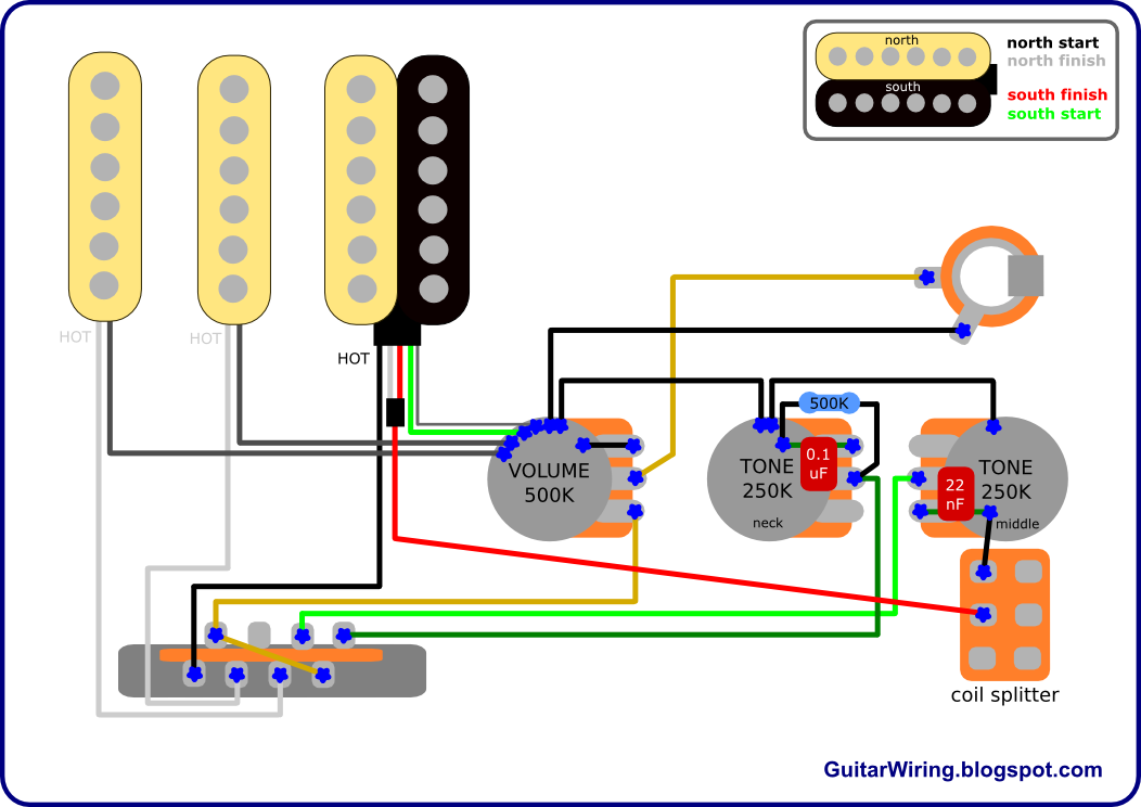 Guitar Wiring Diagrams Customization Diy Projects Mods For Any Electric Guitar A Lot Of Tips Guitar Diy Luthier Guitar Guitar Pickups