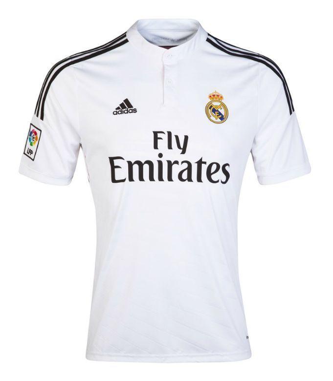 Adidas Soccer Football Futbol Home Kit Real Madrid White Jersey 2014 2015  Sz 2XL  adidas  halamadrid 46146c93c4779