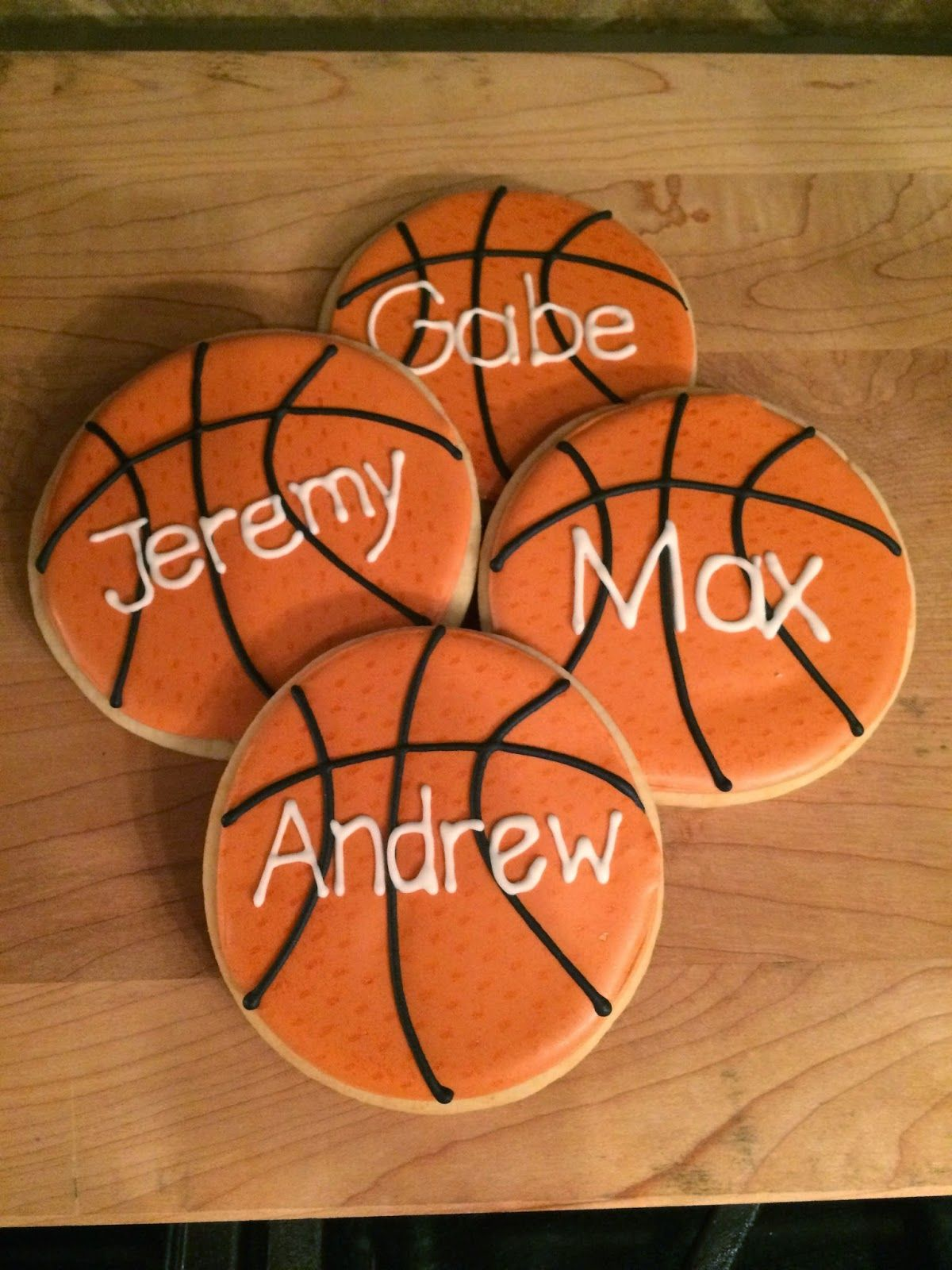 Basketball Sugar Cookies Layup Cake Decorating For