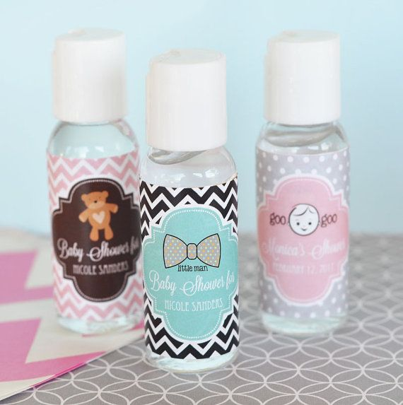 Baby Shower Hand Sanitizer Favors Personalized Hand Sanitizer