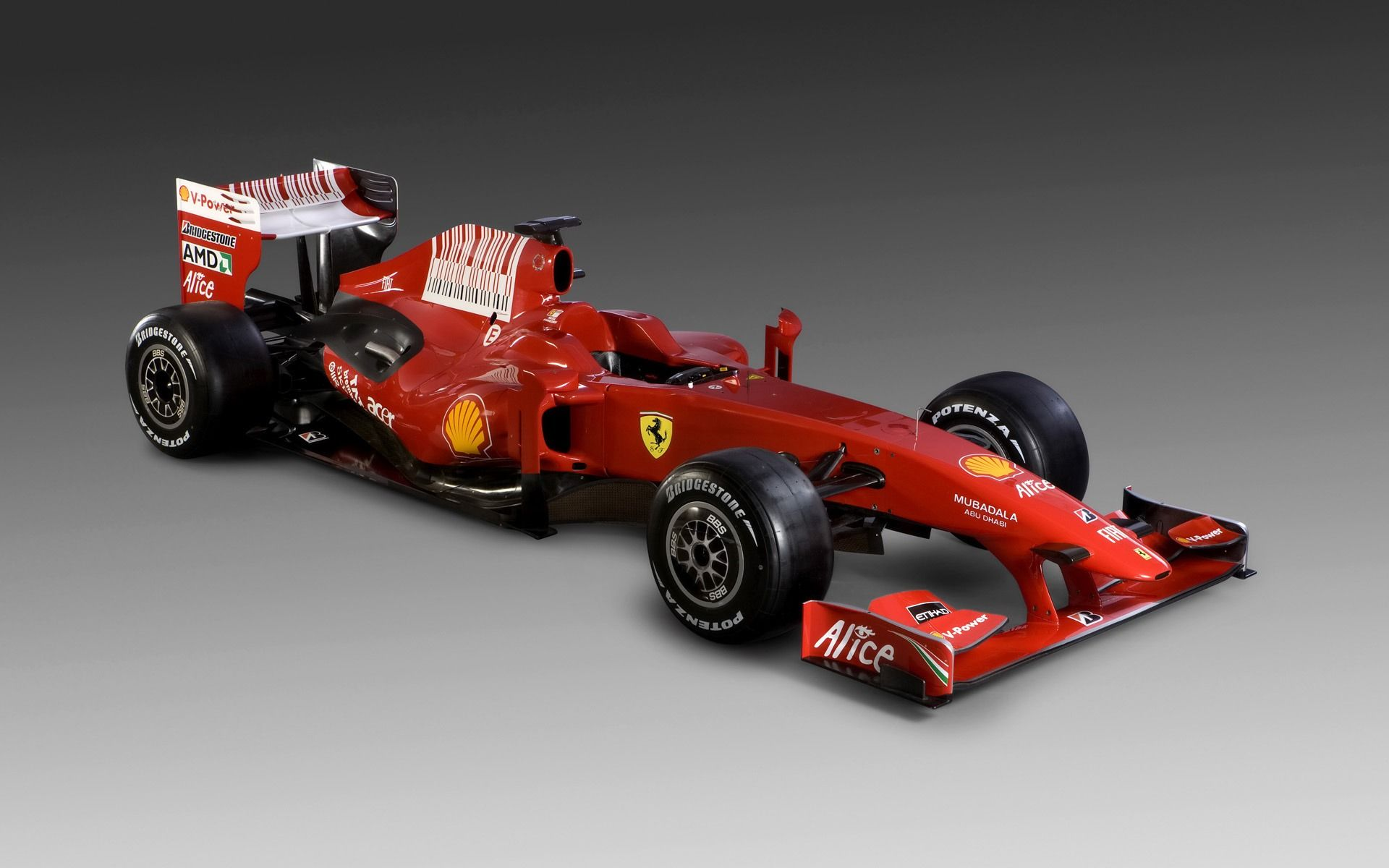 Ferrari F1 Formula One Side View Racing Ferrari F1 Car Wallpapers