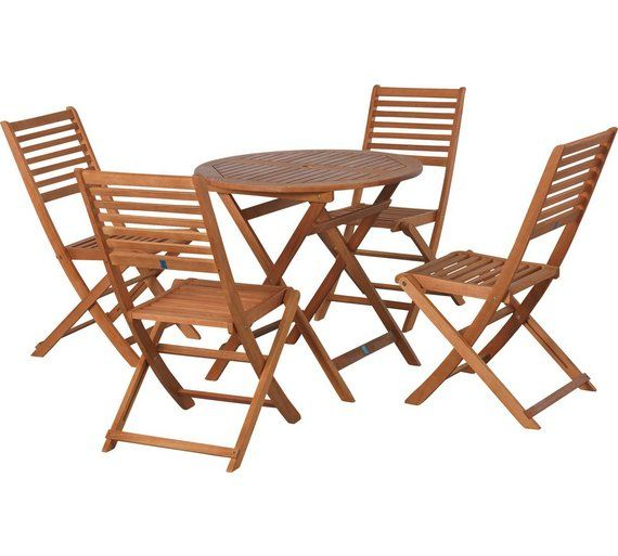 Buy Argos Home Newbury 4 Seater Wooden Patio Set