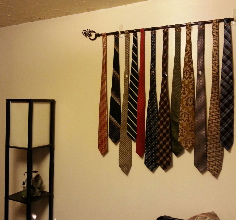 Neck Tie Wall Art (perfect for a Man-cave!) | Men cave, Cave and ...