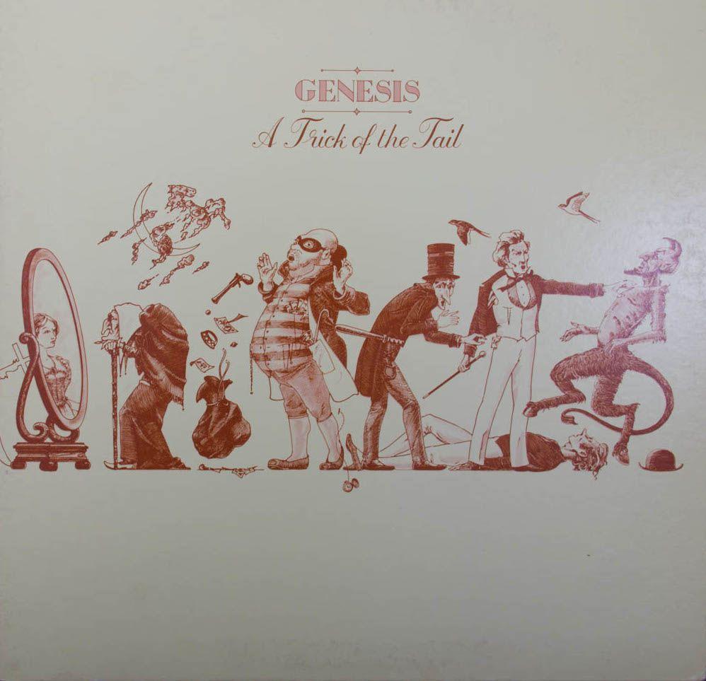 """""""A Trick Of The Tail"""" de la banda inglesa de rock progresivo Genesis, fue el primero en incorporar a Phil Collins como vocalista principal, luego de la salida de Peter Gabriel. Encuéntralo en nuestra tienda online."""