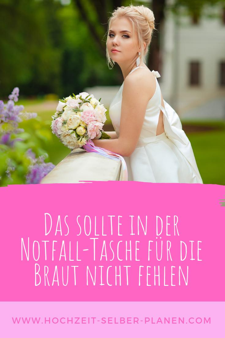 Notfall Tasche Fur Die Braut Braut Hochzeit Brautschleier