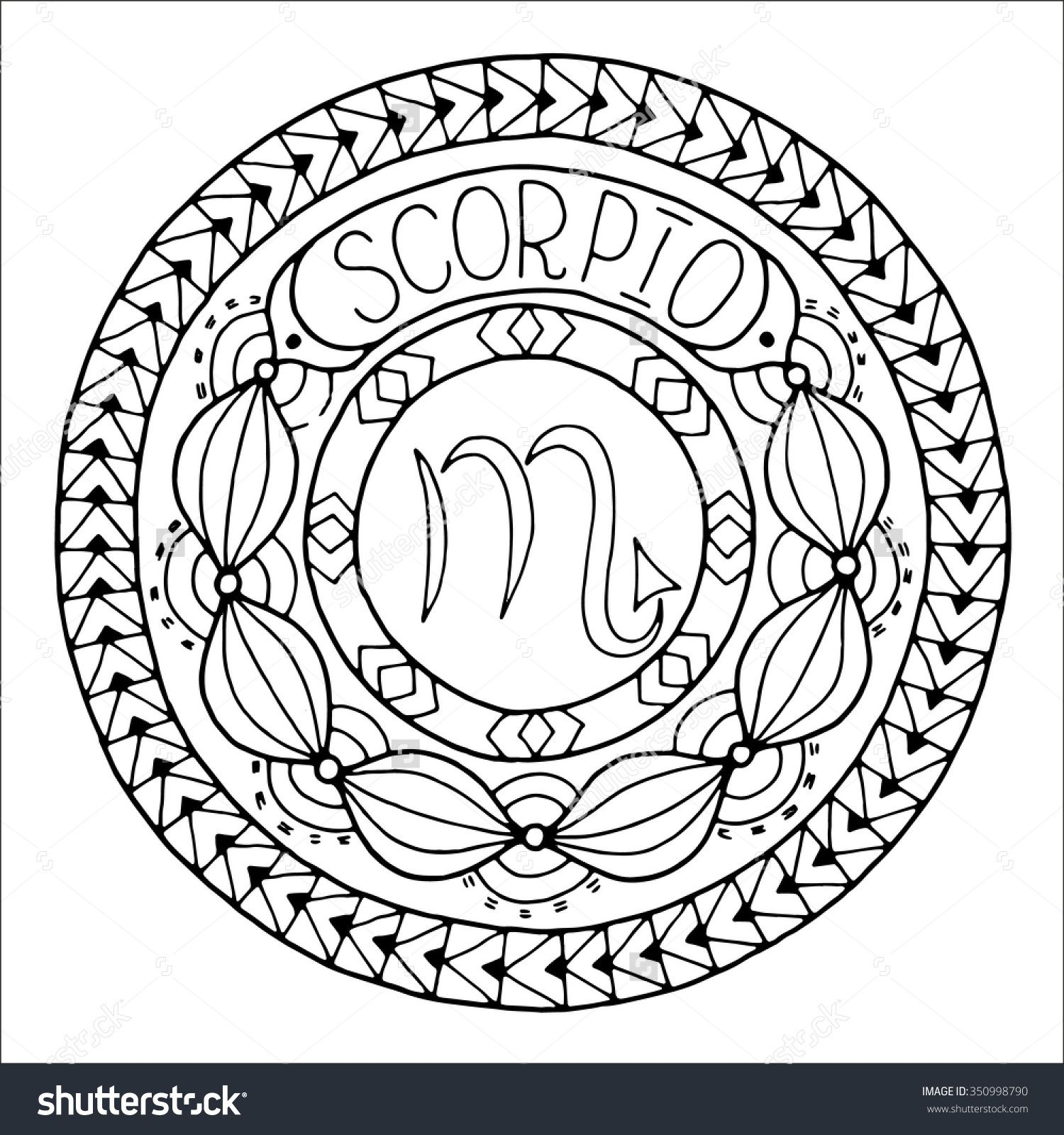 Zodiac Sign Of Scorpio  Shutterstock   Zodiac