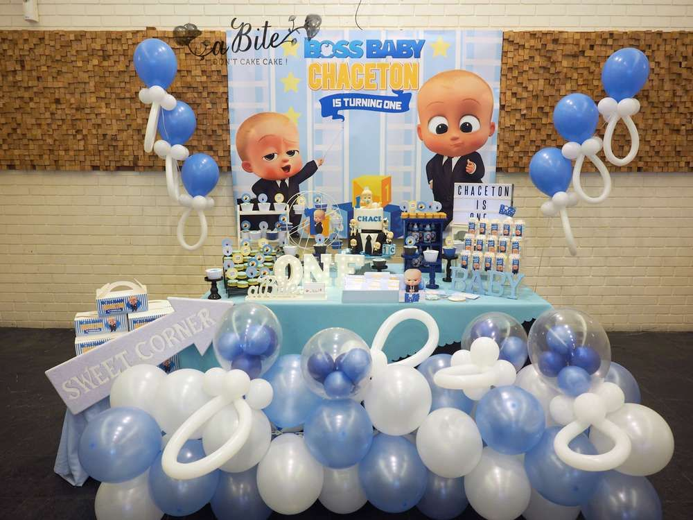 Boss Baby Birthday Party Ideas | Birthday boy | Boss baby ...