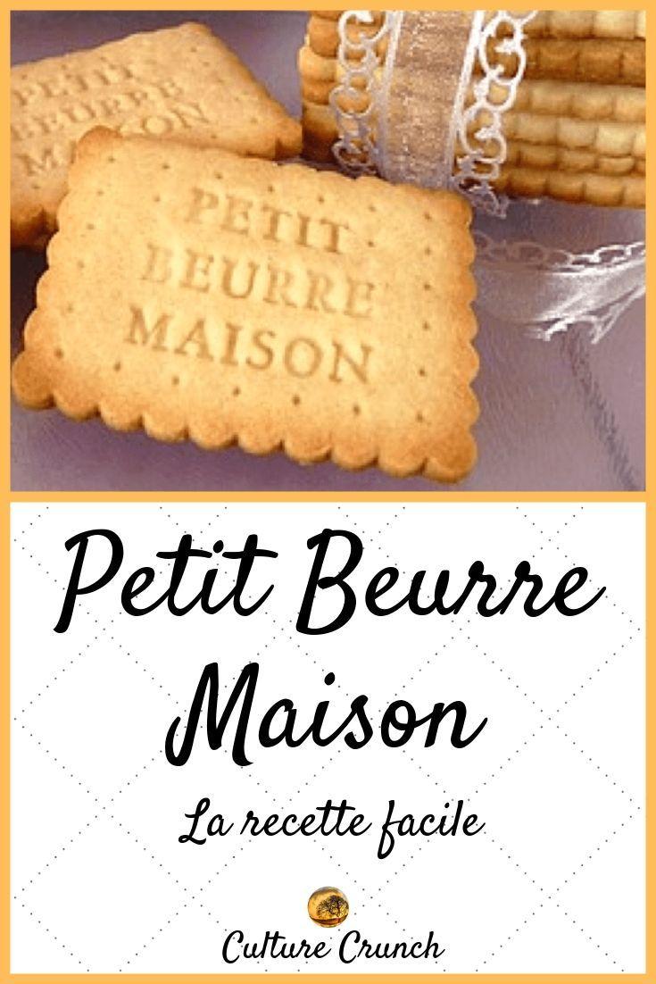 PETIT BEURRE MAISON : la recette facile