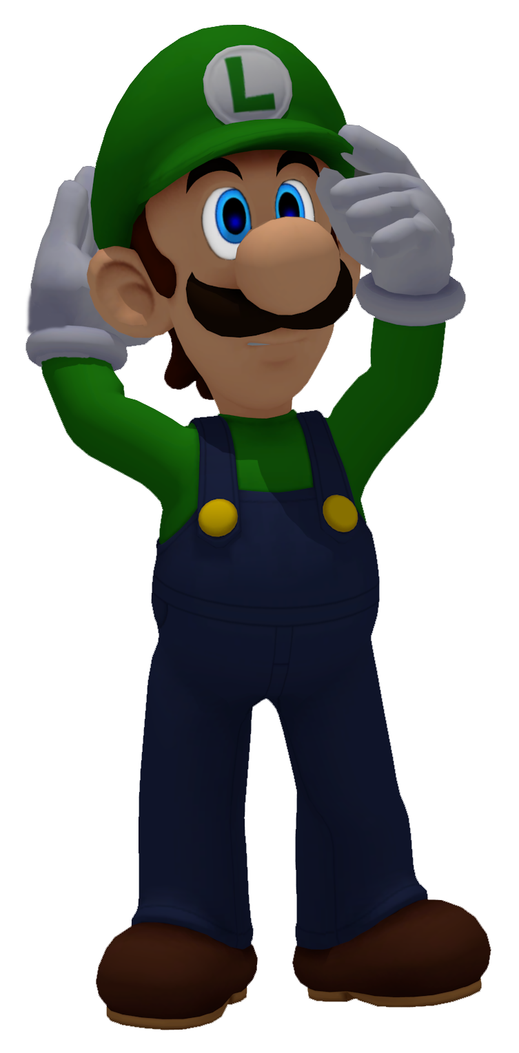 Luigi Super Smash Bros Brawl Pose Render Remake By Marcolin97 On Deviantart Super Smash Bros Brawl Smash Bros Super Smash Bros