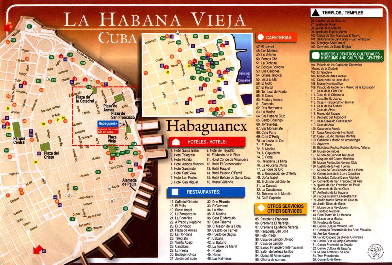 La Habana Vieja es la zona ms antigua de Cuba y la que ms