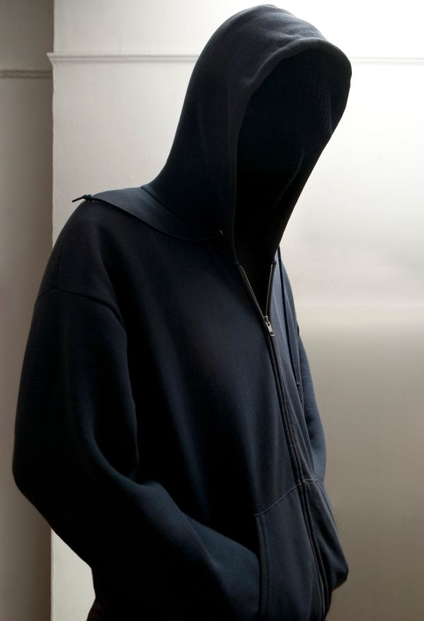 hooded man   INCOGNITO   Pinterest