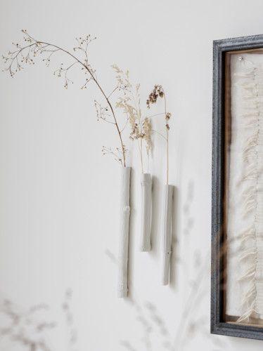 Wall Mounted Bud Vases