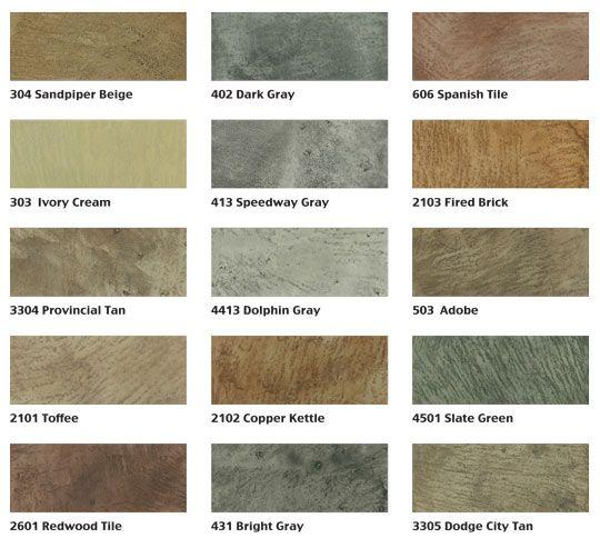 Mirastain Concrete Colors Table Mountain Concrete