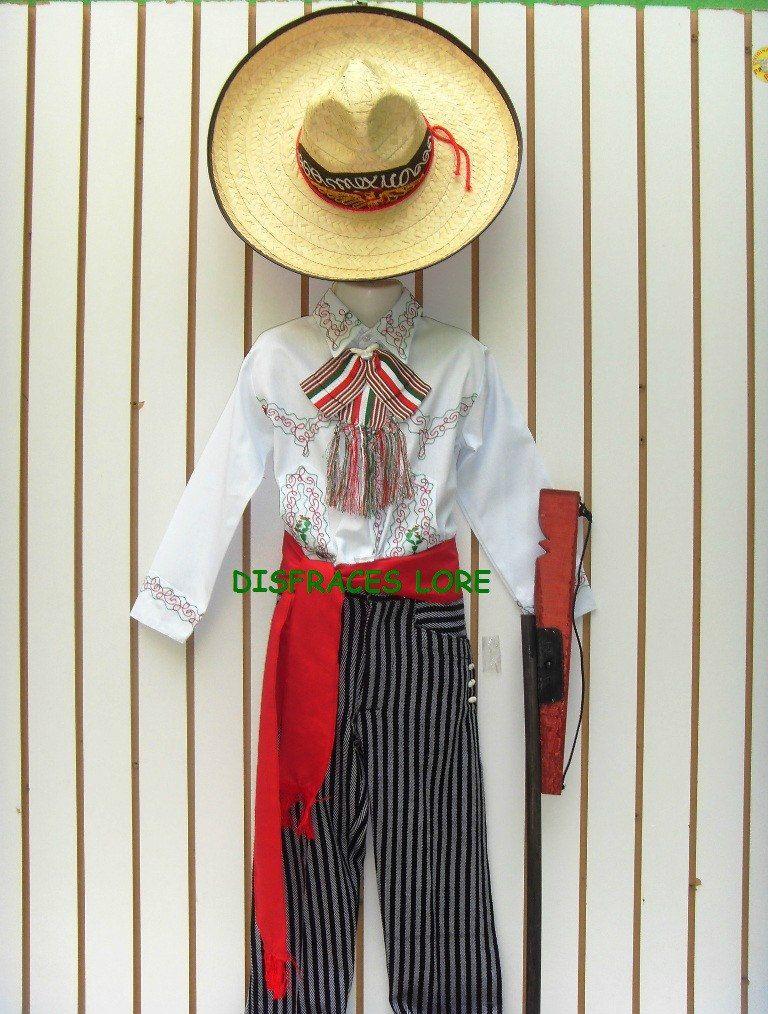 528e29adc Disfraz Caporal Sombrero Revolucioario Niños Envio Gratis - $ 600.00 ...