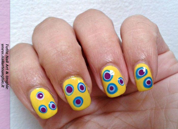 Super Nail art facile per chi è alle prime armi: unghie formaggiose Ieri  IV75