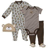Sears Baby Clothes Glamorous Carter's® Baby's Fourpiece Outfit Set Monkey At Sears  Boys