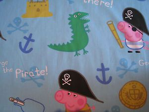 PEPPA PIG GEORGE Fabric Remnant 31