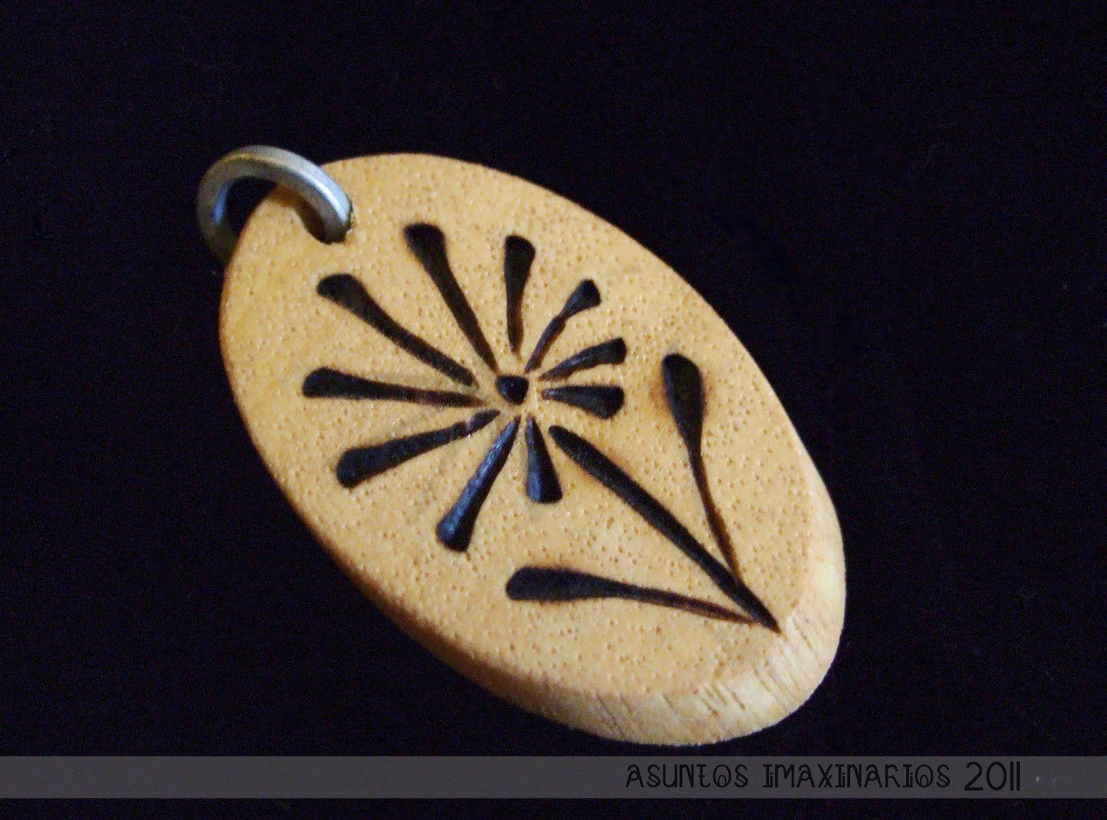 Pyrography: Little Wood Pendants