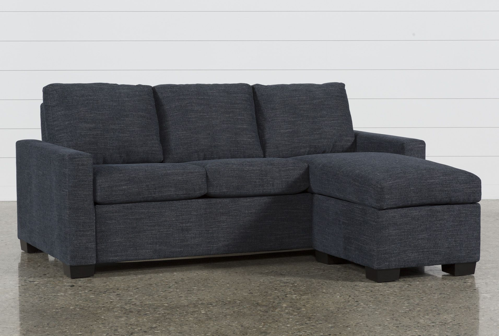- The Sofa Bed Offers Space-saving Comfort! Storage Chaise, Sofa