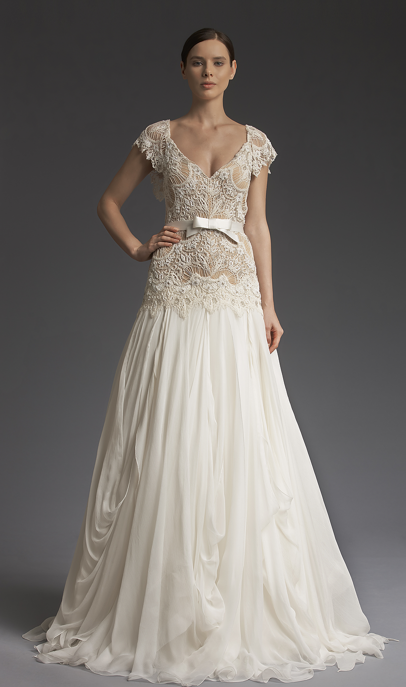 8b65c8bd4a New York Bridal collection from fashion designer Victoria Kyriakides -VKK  Fall Winter 2014