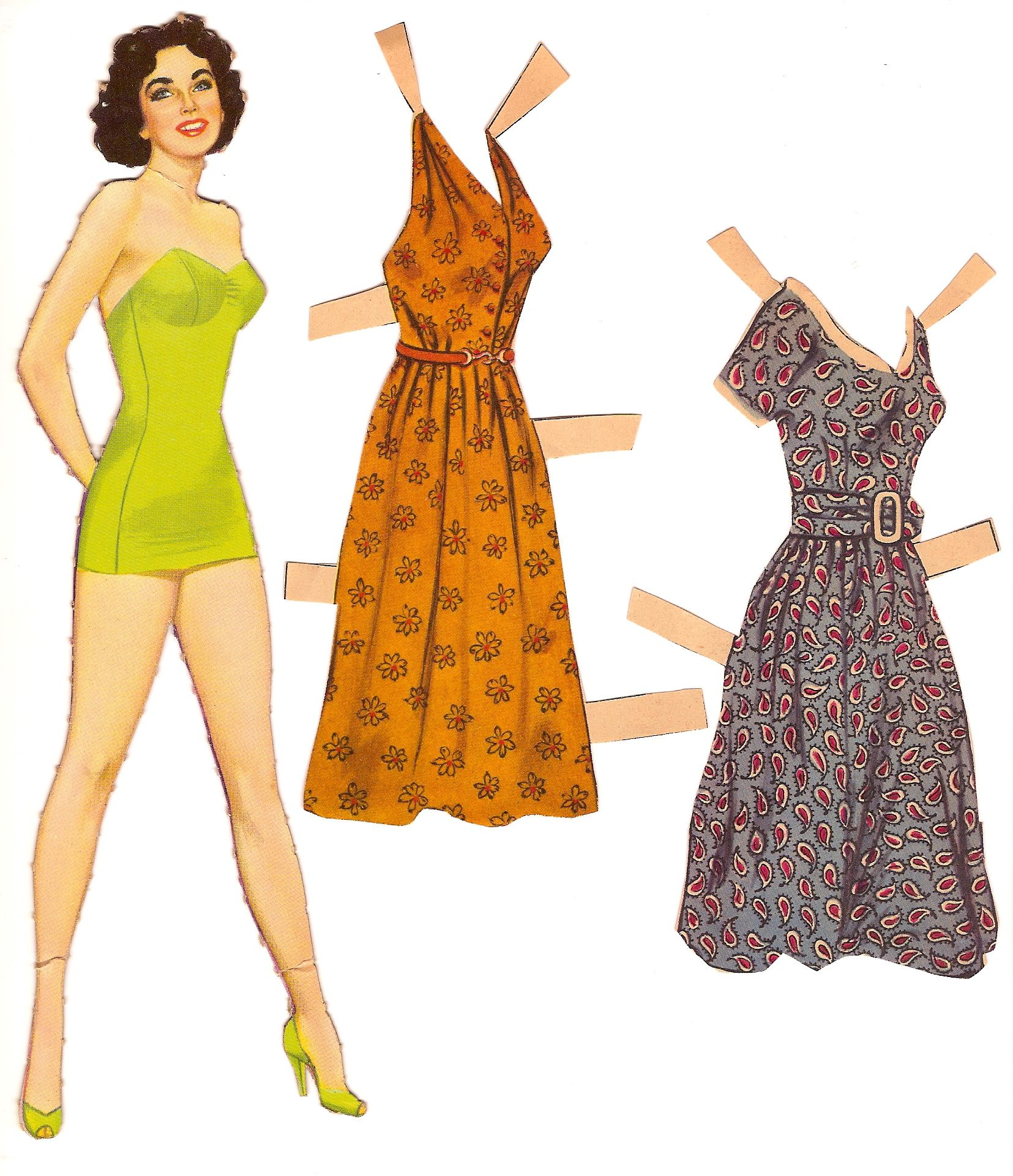 My Sister And I Always Bought Paper Dolls At The Dime Store On