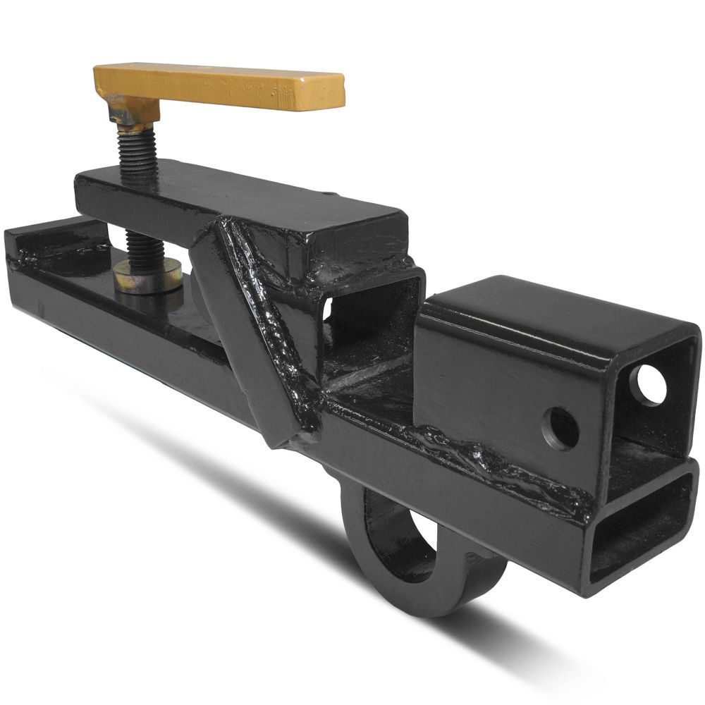 Titan Clamp On Trailer Receiver Hitch 2 Deere Bobcat tractor bucket BH